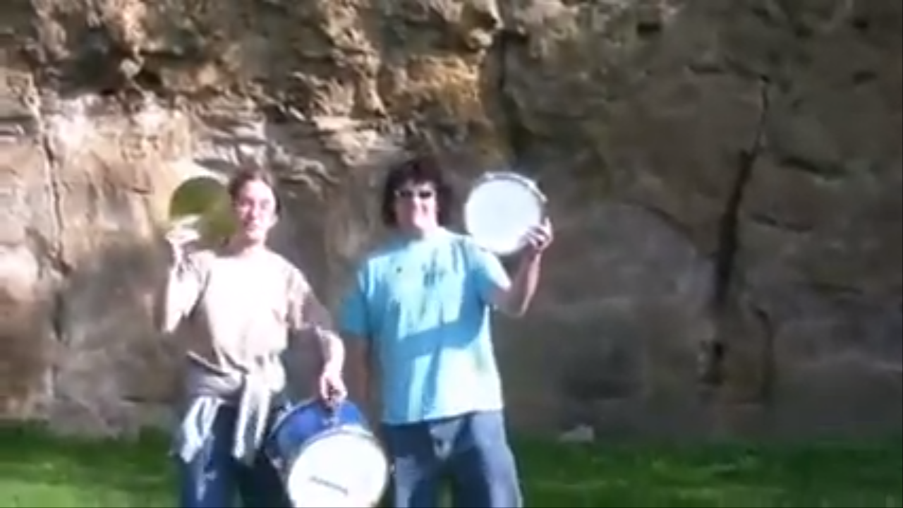 Youtube Thumbnail Image: Two Drums and a Cymbal Fall off a Cliff
